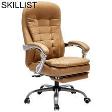Lol Furniture Oficina Escritorio Stoel Gamer Stool Bilgisayar Sandalyesi Leather Silla Gaming Cadeira Poltrona Office Chair