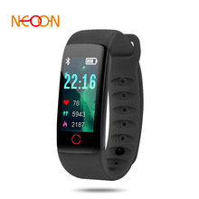 Fashion Smart watch New Intelligent Hand Ring Heart Rate and Blood Pressure Monitoring Color Screen Care for health