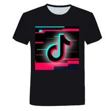 2021 new boys and girls 3D printing custom style casual cartoon T-shirt