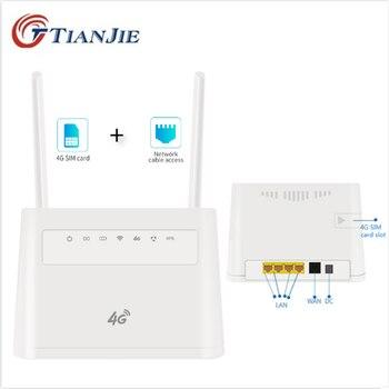unlocked huawei e8231 3g wifi modem wifi router 21 6m high speed car cpe usb 3g dongle pk 4g wifi modem e8278 e8372 e8377 TIANJIE Indoor/Outdoor 4G Wireless WiFi Modem Dongle Unlocked SIM Card Router Modem 3G/4G CAT4 CPE Router With External Antennas