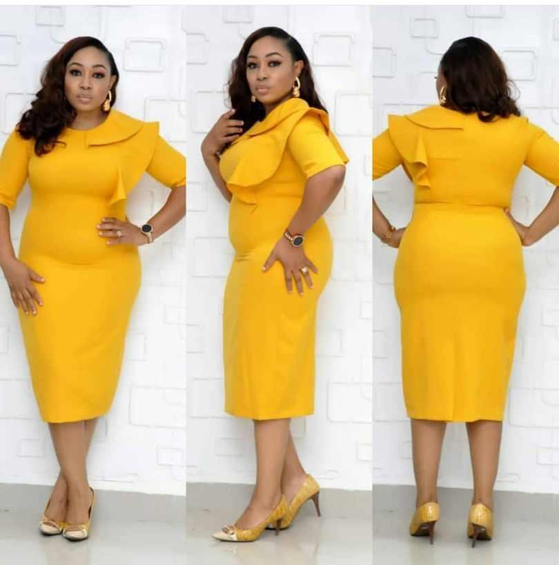 Novedad de otoño 2019, vestido elegante de moda de estilo africano para mujer, vestido de talla grande L-XXL