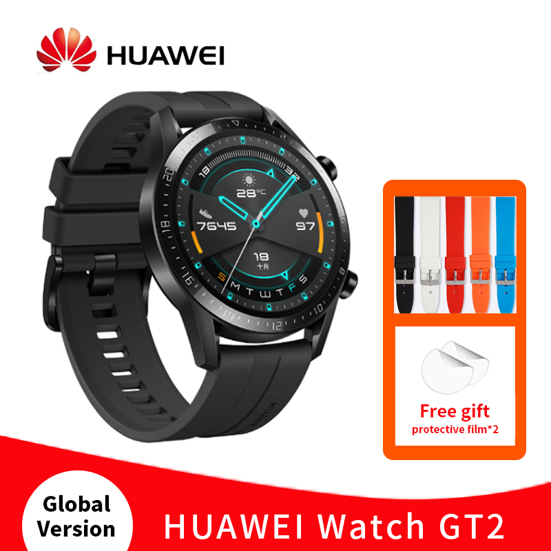 Original HUAWEI Smart watch GT 2 46mm 14 days Battery KirinA1 Blood Oxygen Heart Rate tracker sport Smartwatch For IOS Android|Smart Watches| - AliExpress