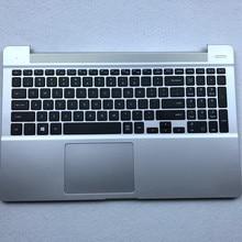 цена на US Laptop Keyboard For Samsung NP630Z5J 630Z5J BA98-00188B With Palmrest Upper Cover Touchpad