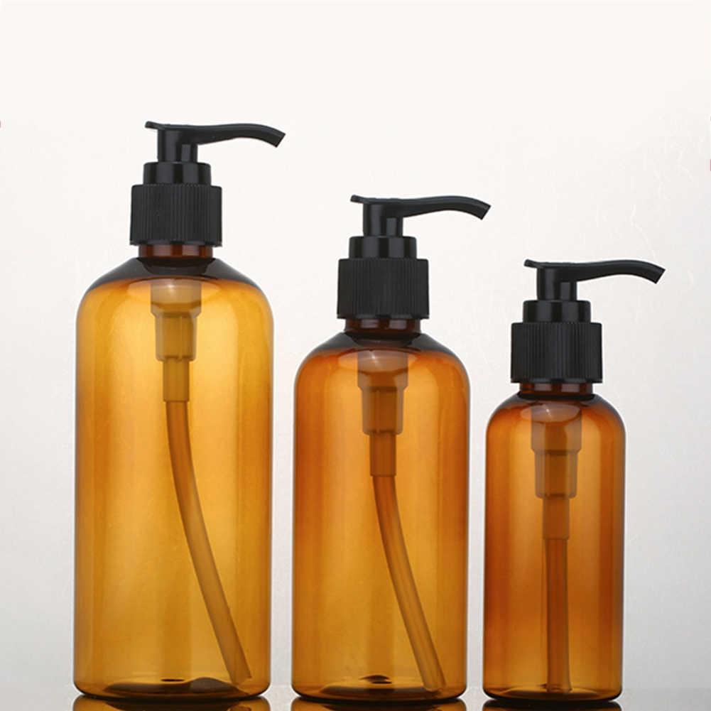 100/200/300ml balsam żel pod prysznic pusty wkład butelka z pompką mydelniczka dozownik trwała pompa butelka do przechowywania wielokrotnego napełniania bez rozlania