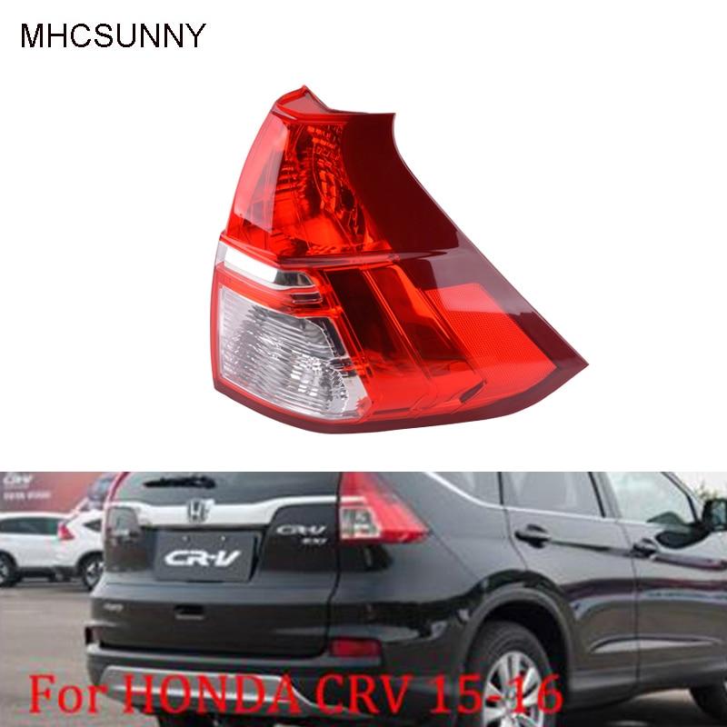 Хвост светильник лампы для Хонда сrv 2015 2016 Авто внешний задний заднего бампера заднего тормоза Предупреждение лампа без лампы