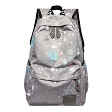 Unique 3D Tiger Head Backpack Women Outdoor Sport Preppy Casual Large Capacity Student Girls School