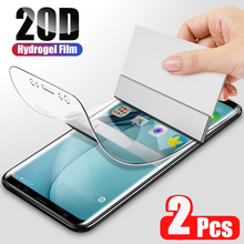 2Pcs 20D Cover Soft Hydrogel Film For Samsung Galaxy S20 S10 S8 S9 Plus Note 20 10 9 Plus S20 Ultra Screen Protector Film S10 5G