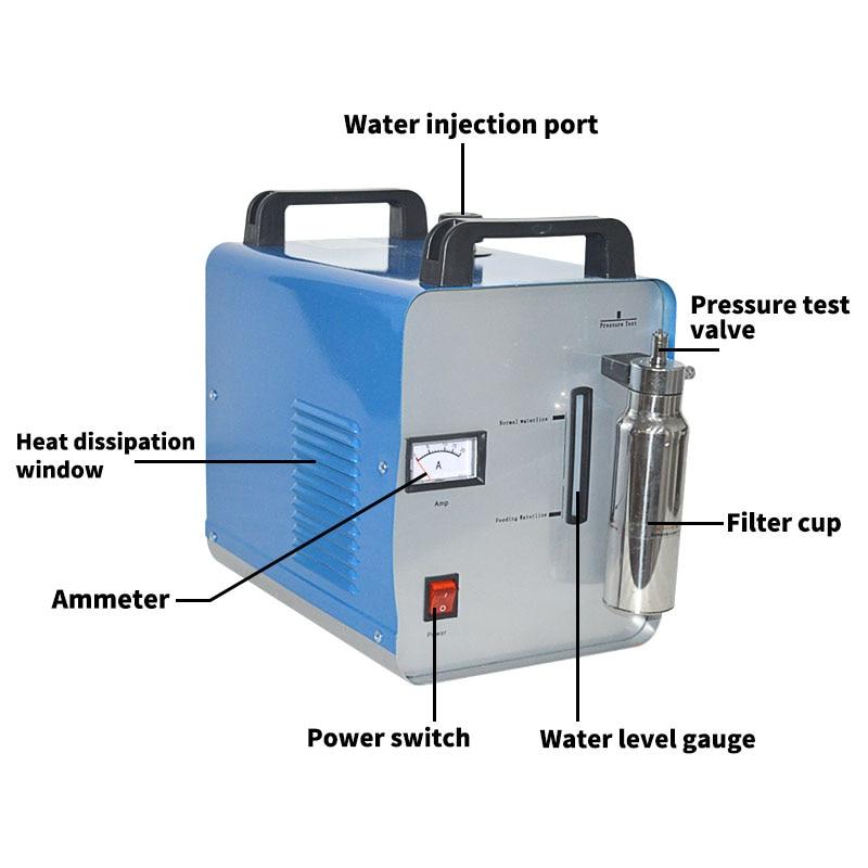 75L/H Acrylic Flame Polishing Machine H160 Acrylic Polisher HHO Hydrogen Generator Machine Crystal Polishing Machine 220V/110V|acrylic flame polishing machine|polishing machine|flame polishing machine - title=