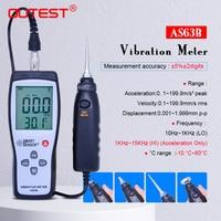 OUTEST Digital Vibration Meter 0.1~199.9m/s Precision Vibration measurer Tester Gauge Analyzer Vibration Measurer Fault Detector