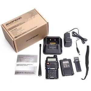 Image 5 - 2Pcs Baofeng BF UV5R Dual Band Two Way Radio Amateur Radio Portable Walkie Talkie Pofung UV 5R 5W VHF/UHF Radio UV 5r CB Radio