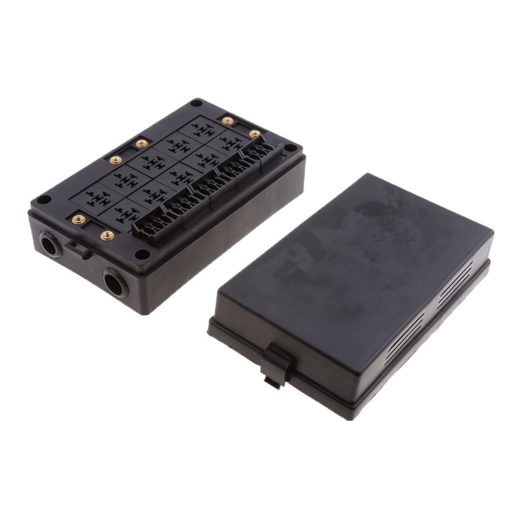 Voiture véhicule 18 lame fusible 10 relais support bloc assortiment pièces électroniques - 2