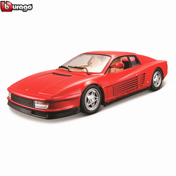 Bburago 1:24 Ferrari TESTAR collection manufacturer authorized simulation alloy car model crafts decoration collection toy tools maisto 1 24 ford raptor manufacturer authorized simulation alloy car model crafts decoration collection toy tools
