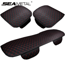 Автомобильные аксессуары, полиуретановые чехлы для автомобильных сидений, набор универсальных чехлов для автомобильных сидений из искусственной кожи, автомобильные чехлы для стульев, Защитные подушки для передних и задних сидений