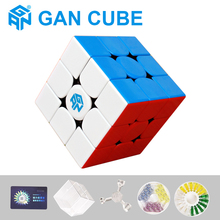 цена на New GAN356 R 3x3x3 Magnetic Magic Speed Cube GAN 356 X Professional Puzzle Cubes Gan354 M Magnets Cubo Magico Gans Cube 3x3X3