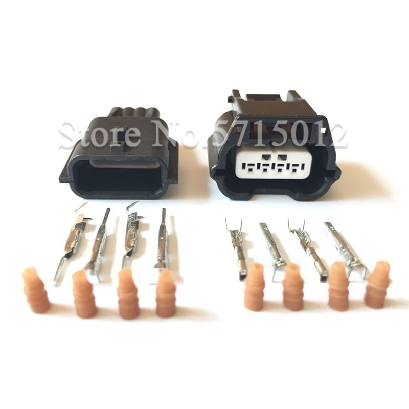 10PCS Micro USB Type B Male Plug Connector Kit with Plastic Cover for DIY N Fd