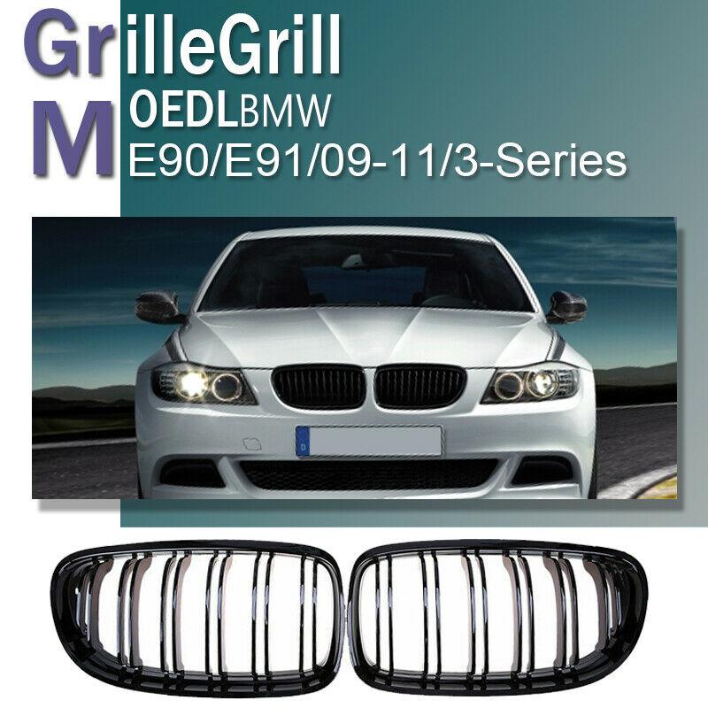 2Pcs For BMW E90 3 Series 2008 2009 2010 2011 Bumper Headlight Washer Cap Cover