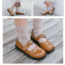 Children Leather shoes Party Flat Kids Shoes Princess Girls