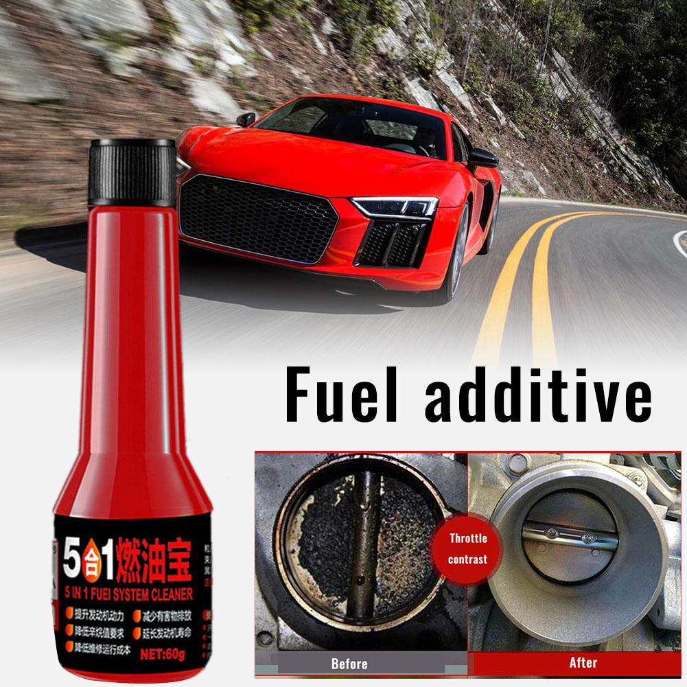 60ml Car Gasoline Fuel Oil Saver Carbon Cleaning Gasoline Additive Synergist Car Fuel Carbon Deposit Removal Energy Saving