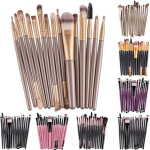 Professional Cosmetic Pen Set Makeup Brush Blush Eyeshadow Foundation Blush Powder Eyelash Lip Brush Travel Make up Brush Tools(China)