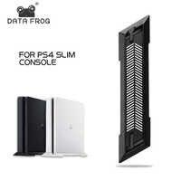 Rejillas de refrigeración incorporadas de la rana de datos con el soporte Vertical antideslizante de los pies para el muelle de la consola de juegos de SONY Playstation PS4 titular de montaje