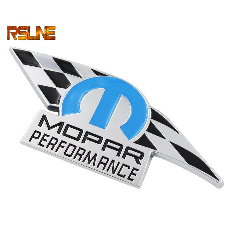 1 PCS 3D Metal MOPAR PERFORMANCE Car Emblem Decal Sticker Truck For Dodge Ram Charger 2011-2012 JEEP CHRYSLER Car Styling