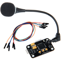 음성 인식 모듈 마이크 녹음 전송 인식 LED 라이트를 포함한 직렬 포트 제어