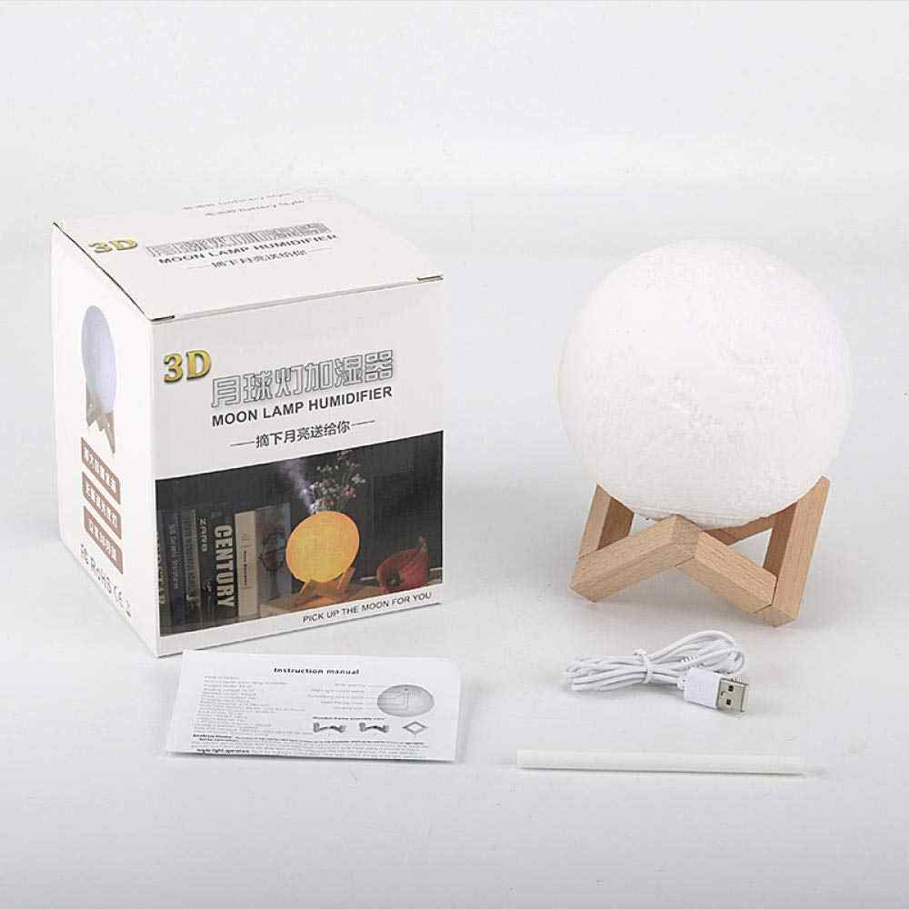 Humidifier Moon Lamp Air Humidifier 880ml 3d Moon Light Diffuser Aroma Essential Oil Usb Ultrasonic Humidificador Night Cool Humidifiers Aliexpress