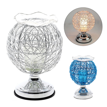 Dimmable Aromatherapy Nest Table Lamp Electric Fragrance Essential Oil Lamp Air Aroma Diffuser Night Light Home Christmas Decor