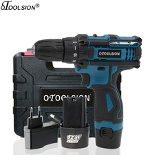 18+1 Torque 12.6V Cordless Screwdriver Wireless Drill 1500Mah Power Electric Hand Variable Speed With Box Bits