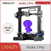 CREALITY 3D Ender 3 Pro Printer DIY Kit Self assemble with Upgrade Printing Masks Magnetic Build Plate Resume Power Supply