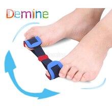 цена на 1 Pcs Soft Corrector Hallux Valgus Belt Elastic Toe Separator Recovery Training Brace Splint Big Toe Bunion Hallux Valgus