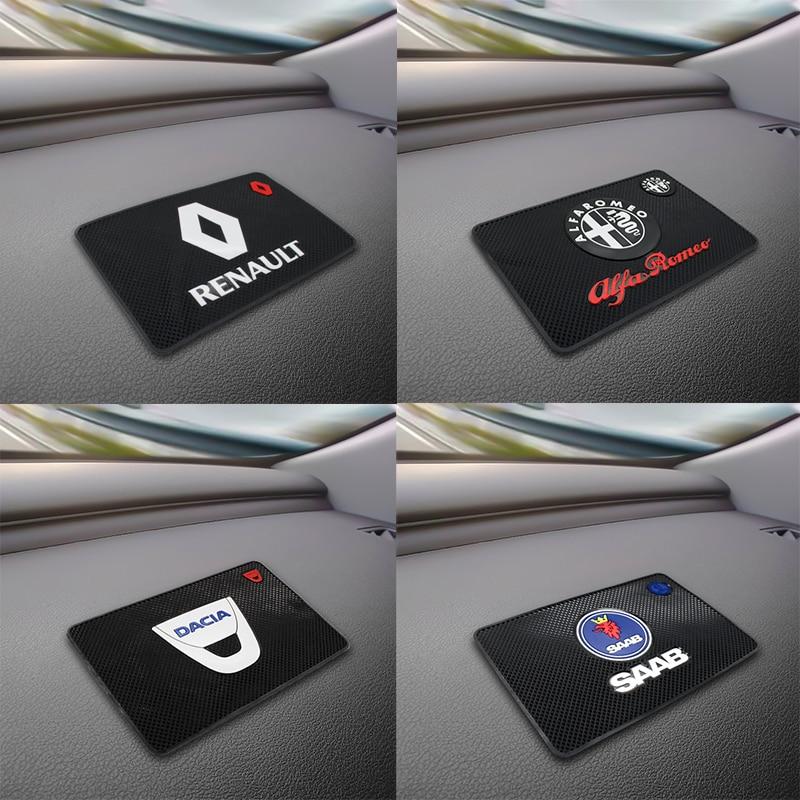 Car Anti Slip Pad Silica Gel Sticky Pad Dashboard Mobile Phones For Nissan Peugeot Subaru Fiat Hyundai Citroen Mitsubishi Kia VW