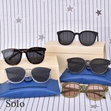 2020 New Fashion Brand Sunglasses GENTLE Solo Glasses Acetat