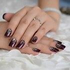 Brown Glitter Shiny ...
