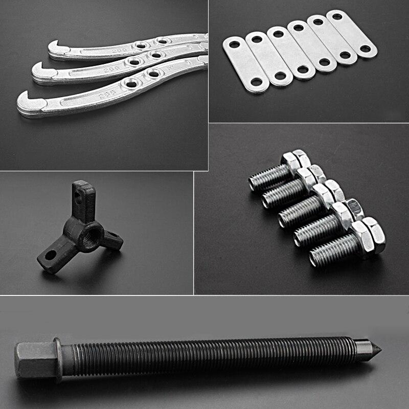 Piece 3 Jaw Leg Bearing Gear Hub Steel Puller Set Internal External Remover Tool