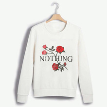 Long Sleeve O Neck Jumper Pullover Tops Autumn Winter Femme Loose pullover Hoodies 2019 New Nothing Women Printed Sweatshirt fashion letter printed long sleeve hoodies pullover women autumn winter o neck hoodie female sweatshirt tops clothes s xl