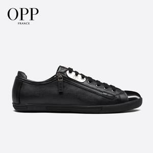 OPP Mens Fashion Low Leather L