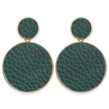 Geometric Shell Earrings For Women Earrings Jewelry Women Jewelry Metal Color: CS5657