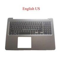 Portátil palmrest eua sw cz bg teclado para dell para inspiron 15 5565 5567 p66f 0pt1ny pt1ny inglês suíço bulgária checa novo