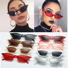 цена на 1PC Vintage Cat Eye Sunglasses Fashion Women Small Frame UV400 Sun Shades Glasses Street Eyewear Luxury Trending Sunglasses