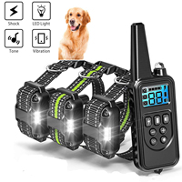 electric-dog-training-collar-shock-training-collar-electronic-vibrator-remote-control-waterproof-rechargeable-trainingshalsband