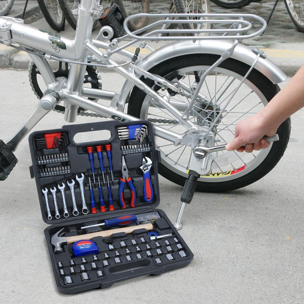 Woodworking WORKPRO For Socket Workshop Box Repair Hand Kits Car Set Tools Set Sets Home Mechanical Tool Tools Tool Screwdriver