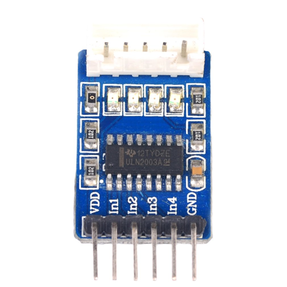 Uln2003 Stepper Motor Driver Board Five-Wire Four-Phase Stepping Test Board Motor Drive Module Low Power Consumption