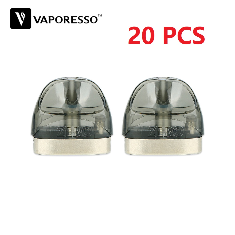 Original 2 stücke Vaporesso Renova Null Pod mit 2ml Kapazität und 1.0ohm Spule Kopf E-cig Vape Tank für Vaporesso Renova Null Pod Kit