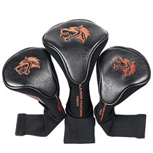 Golf Head Covers Driver 1 3 5 Fairway Woods Headcovers Protective Covers Fits All Fairway And Driver(China)