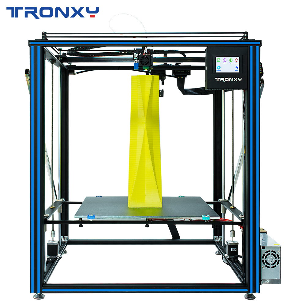 Tronxy 3D Printer X5SA PRO Upgraded Titan Extruder Double Axis Guide Rail Printer Resume Power Failure High precision 3D Drucker