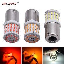 2 pces livre de erros 1156 led p21w ba15s 1157 led bay15d s25 57smd 3014 auto lâmpadas led sinal de volta led lâmpada luzes do carro 12v 24v