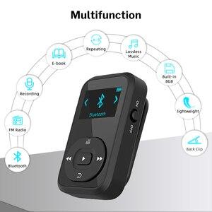 Image 2 - Deelife Sport Kit Met Bluetooth Mp3 Speler En Tws Echte Draadloze Bluetooth Hoofdtelefoon Voor Running Jogging Met Fm Record