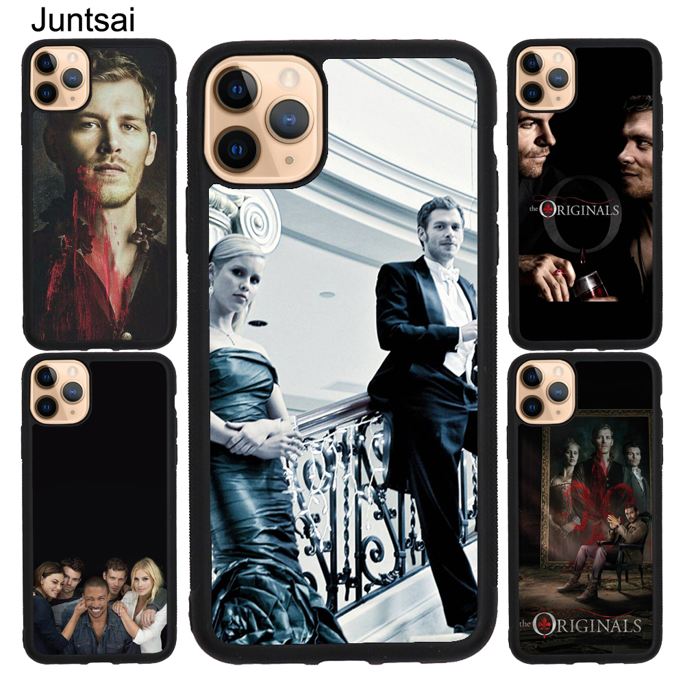 The <font><b>Originals</b></font> Vampire Poster <font><b>Case</b></font> For <font><b>iPhone</b></font> 11 Pro Max <font><b>X</b></font> XR <font><b>XS</b></font> Max 5S SE 2020 6S 7 8 Plus Back Cover Shell image