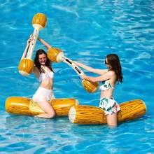Nadmuchiwane Joust nadmuchiwane koło pływający w basenie zabawki do gier woda Sport zabawka dla dzieci impreza dla dorosłych dostaw Gladiator tratwa